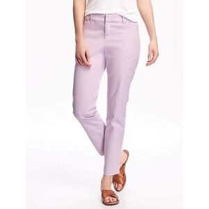 Old Navy lavender pixie dress pants